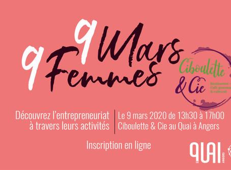 JOURNÉE DE LA FEMME 2020à ANGERS