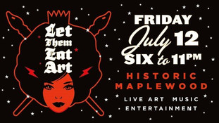 Let Them Eat Art on July 12th in Maplewood