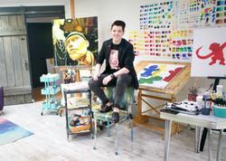 In my Super Keen Art Studio