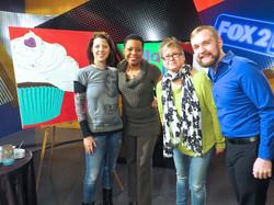 Fox 2 News, with Kim Hudson