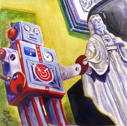 Robot Loves Jesus