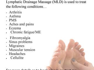Lymphatic Drainage Massage.