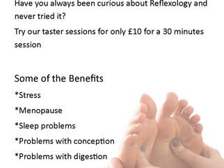 Reflexology Taster Session