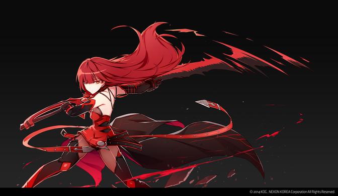 Crimson Avenger Extra Skillcut / 2014