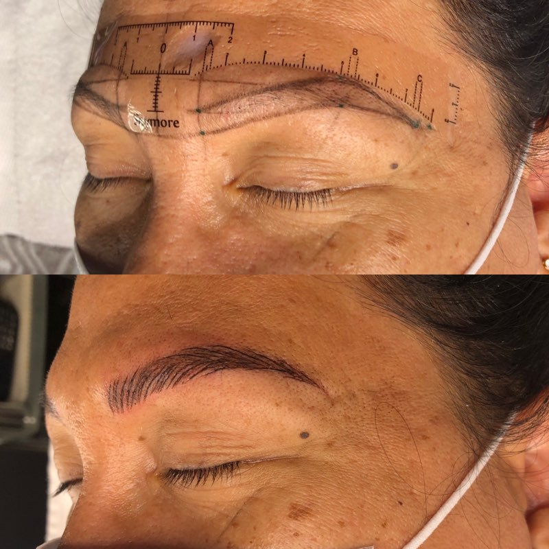 Permanent Makeup for Brows