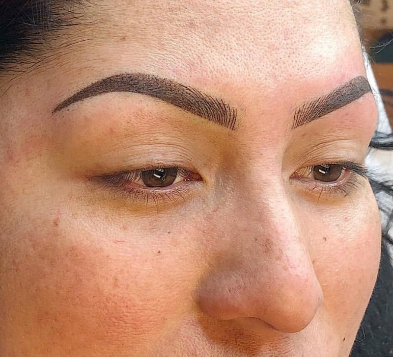 Permanent Brows with Arch