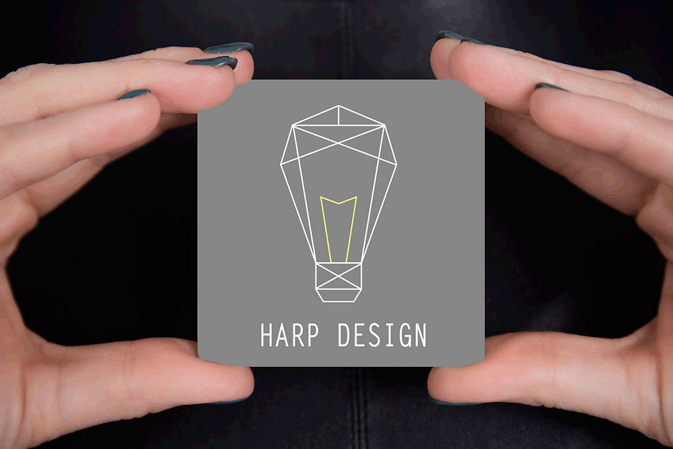 Hand with Business Card Harp Design1.png