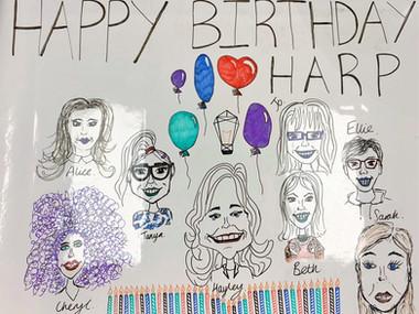 Happy Birthday Harp!