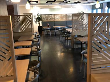 Essex University Brasserie Restaurant Coming Together Today