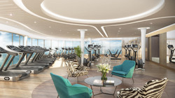 3D Visuals Gym Design