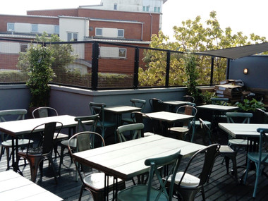 The Forge Terrace Is Ready For The Sunny Bank Holiday Weekend!