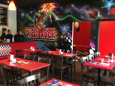 KidzRock - Diner with Kids Play Area in Surbiton