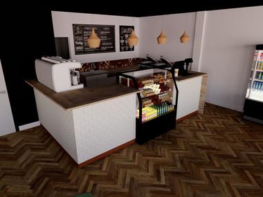 New Coffee Shop 3D Visuals