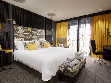 Hotel Bedroom Visuals