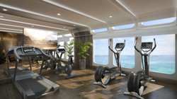 3D Visuals Gym