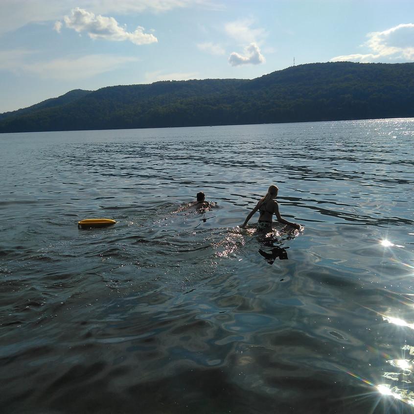 Cross Lake Swim 1