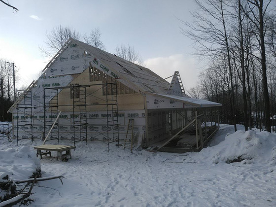 Full shape of Lodge now visible
