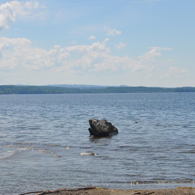 Lake view to south