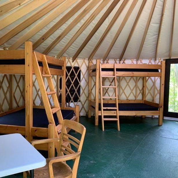 Yurt 2 Interior left view