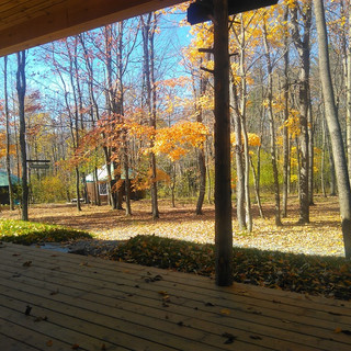 View from Lodge porch