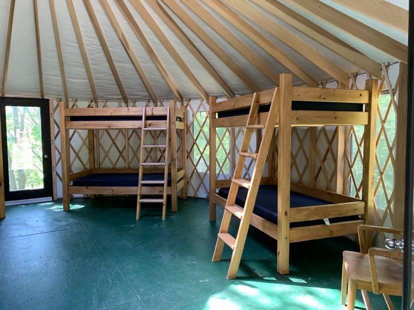 Yurt 2, Interior, right view