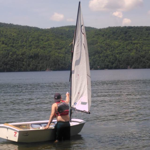 Sailing (Sanitzing boats)