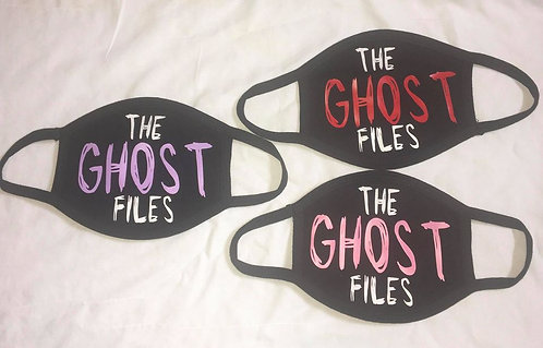 Ghost Files Face Mask