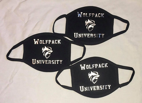 Wolfpack University Face Mask