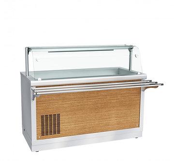 Прилавок холодильный высокотемпературный Abat ПВВ(Н)-70Х-01-НШ