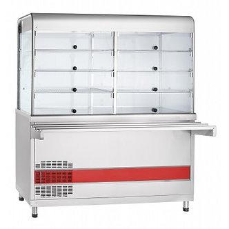 Прилавок-витрина холодильный Abat ПВВ(Н)-70КМ-С-01-ОК