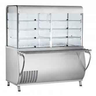 Прилавок-витрина холодильный Abat ПВВ(Н)-70М-С