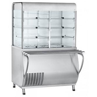 Прилавок-витрина холодильный Abat ПВВ(Н)-70М-С-01