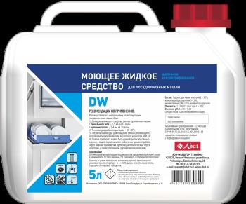 Abat DW (5 л). Жидкое моющее средство для посудомоечных машин.