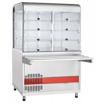 Прилавок-витрина холодильный Abat ПВВ(Н)-70КМ-С-НШ