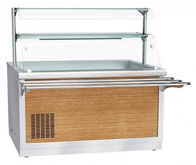 Электрический мармит кухонный 2-х блюд Abat ЭМК-70Х
