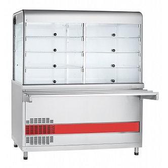 Прилавок-витрина холодильный Abat ПВВ(Н)-70КМ-С-01-НШ