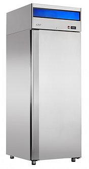 Шкаф холодильный Abat ШХн-0,5-01 нерж. ВЕРХНИЙ АГРЕГАТ