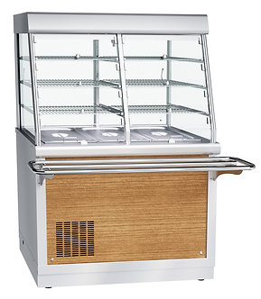 Прилавок-витрина холодильный Abat ПВВ(Н)-70Х-С-НШ