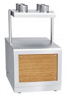 Прилавок для столовых приборов и подносов Abat ПСП-70Х