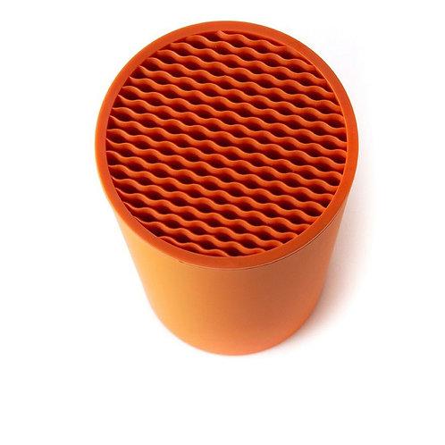 瑞典【GREEGREEN】 瀝水刀具收納筒 (橙色)
