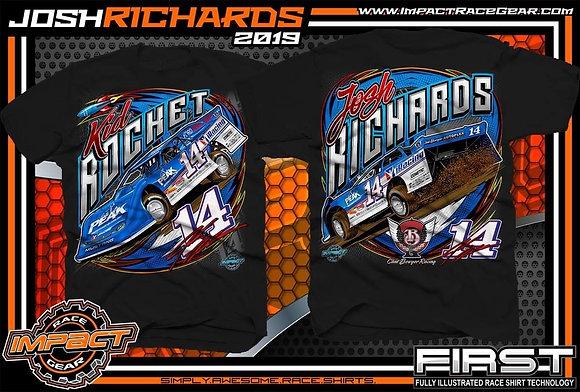 2019 Josh Richards Black Car Shirt