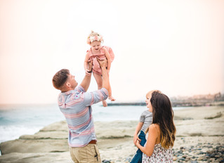 The Bernston's | Beach Family Session