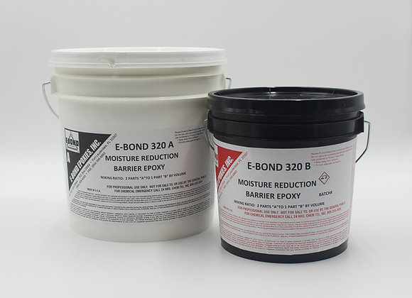 E-Bond 320 Moisture Reduction Barrier Epoxy-3 gallon kit