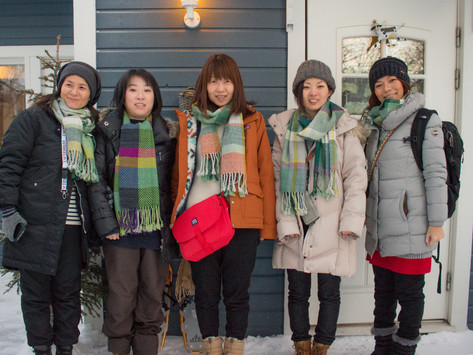 Visitors from Sapporo
