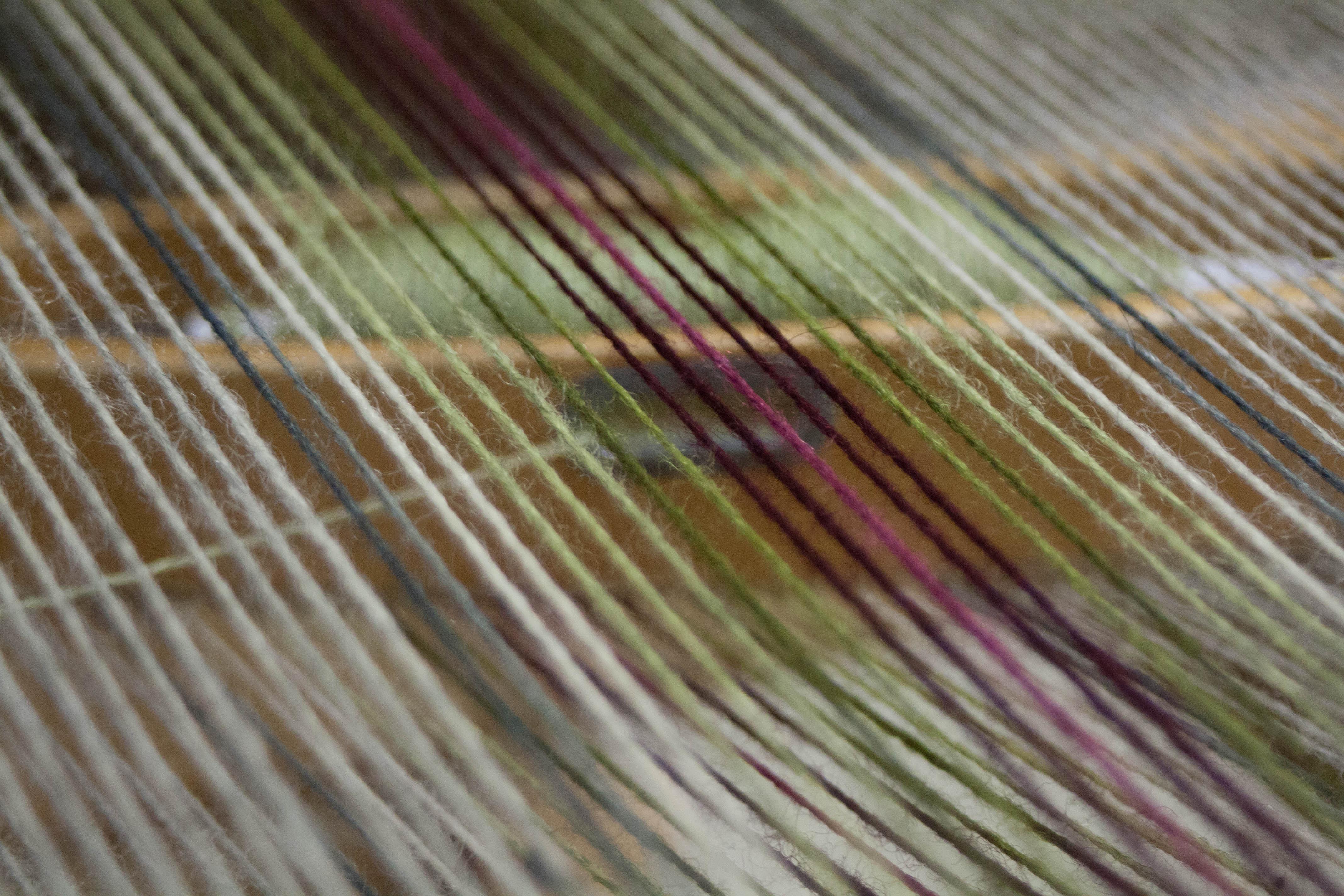 Wool warp