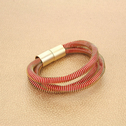 Jean Bracelet Golden Red