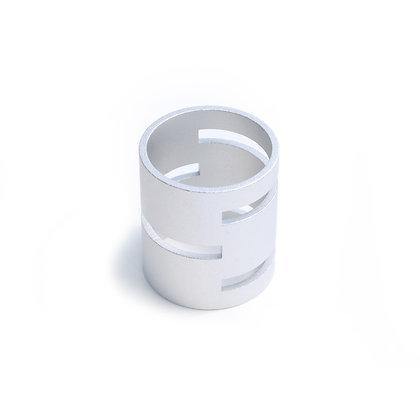 Single Silver Fastener