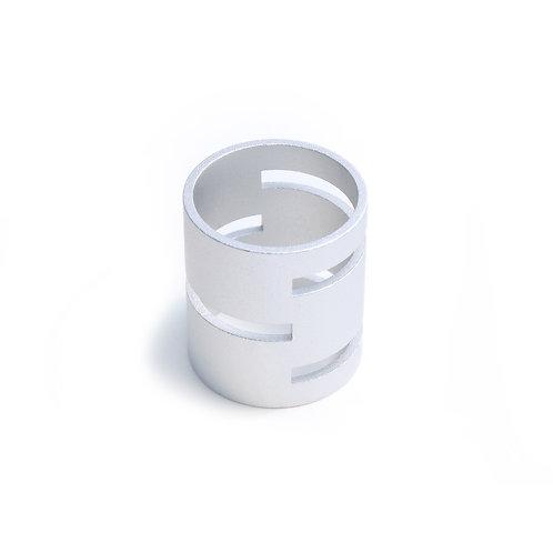 Single Fastener Silver