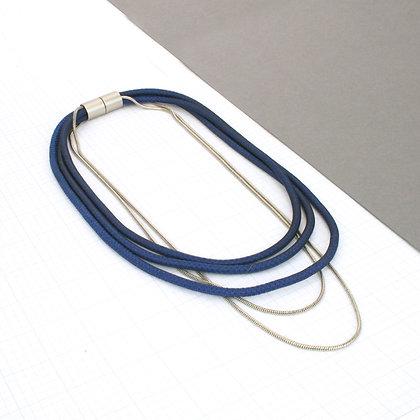 Bailey Necklace Dark Blue