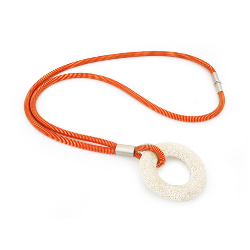 Addison Necklace Orange